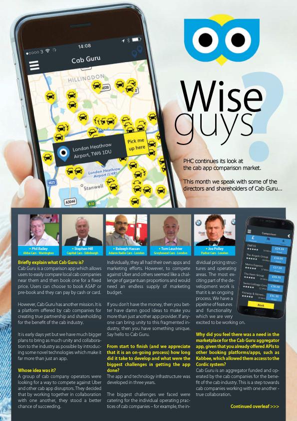 Cab and Taxi Comparison App - Cab Guru